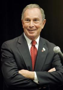 New York Mayor Michael Bloomberg.