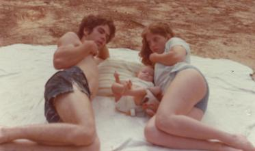 Tim, Kelly, and Ellen 1974